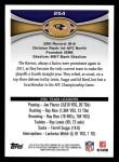 2012 Topps #254   -  Ray Rice Baltimore Ravens Back Thumbnail