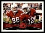 2012 Topps #259   -  Todd Heap / Andre Roberts Arizona Cardinals Front Thumbnail