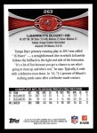 2012 Topps #263  LeGarrette Blount  Back Thumbnail