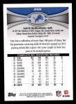 2012 Topps #268  Nate Burleson  Back Thumbnail