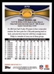 2012 Topps #270  Philip Rivers  Back Thumbnail