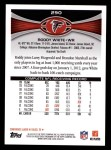 2012 Topps #290  Roddy White  Back Thumbnail
