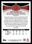 2012 Topps #301  Mike Williams  Back Thumbnail