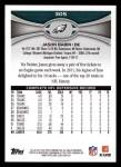 2012 Topps #305  Jason Babin  Back Thumbnail