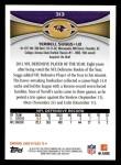 2012 Topps #313  Terrell Suggs  Back Thumbnail