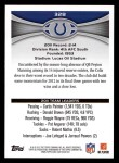 2012 Topps #328   -  Dwight Freeney / Robert Mathis Indianapolis Colts Back Thumbnail