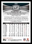 2012 Topps #330  Michael Vick  Back Thumbnail