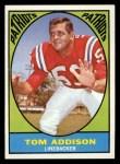 1967 Topps #5  Tom Addison  Front Thumbnail