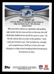 2012 Topps #345  Riley Reiff  Back Thumbnail