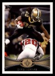 2012 Topps #349  Chris Ivory  Front Thumbnail