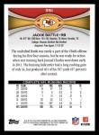 2012 Topps #351  Jackie Battle  Back Thumbnail