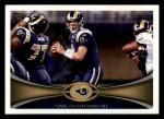 2012 Topps #370  Sam Bradford  Front Thumbnail