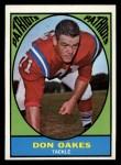 1967 Topps #8  Don Oakes  Front Thumbnail