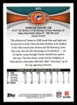 2012 Topps #371  Vontae Davis  Back Thumbnail