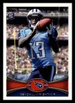 2012 Topps #378  Kendall Wright  Front Thumbnail