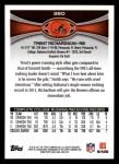 2012 Topps #380  Trent Richardson  Back Thumbnail