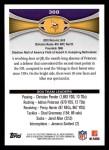 2012 Topps #388   -  Adrian Peterson / Kyle Rudolph Minnesota Vikings Back Thumbnail