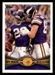 2012 Topps #388   -  Adrian Peterson / Kyle Rudolph Minnesota Vikings Front Thumbnail