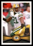 2012 Topps #390  Charles Woodson  Front Thumbnail