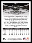 2012 Topps #392  Shonn Greene  Back Thumbnail