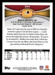2012 Topps #394  Brian Orakpo  Back Thumbnail