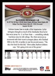 2012 Topps #411  NaVorro Bowman  Back Thumbnail