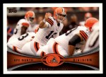 2012 Topps #418   -  Colt McCoy Cleveland Browns Front Thumbnail