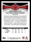 2012 Topps #431  Andre Roberts  Back Thumbnail
