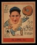 1938 Goudey Heads Up #281  Al Lopez  Front Thumbnail