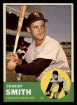 1963 Topps #424  Charley Smith  Front Thumbnail