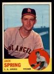 1963 Topps #572  Jack Spring  Front Thumbnail
