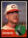 1963 Topps #556  Al Worthington  Front Thumbnail