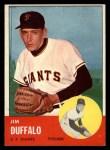 1963 Topps #567 xBLB Jim Duffalo  Front Thumbnail
