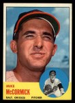 1963 Topps #563  Mike McCormick  Front Thumbnail