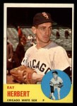 1963 Topps #560  Ray Herbert  Front Thumbnail