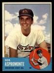 1963 Topps #45  Bob Aspromonte  Front Thumbnail