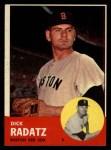 1963 Topps #363  Dick Radatz  Front Thumbnail
