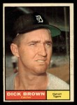 1961 Topps #192  Dick Brown  Front Thumbnail