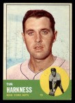 1963 Topps #436  Tim Harkness  Front Thumbnail