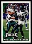 2010 Topps #73   -  DeSean Jackson Eagles Team Front Thumbnail