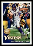 2010 Topps #382  Kevin Williams  Front Thumbnail