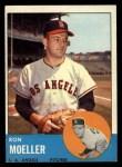 1963 Topps #541  Ron Moeller  Front Thumbnail