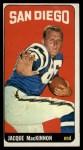 1965 Topps #167  Jacque MacKinnon  Front Thumbnail