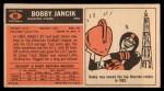 1965 Topps #80  Bobby Jancik  Back Thumbnail