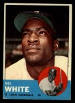 1963 Topps #290  Bill White  Front Thumbnail