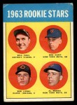 1963 Topps #558   -  Ron Hunt / Bill Faul / Al Moran / Bob Lipski Rookies   Front Thumbnail