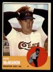 1963 Topps #395  Don McMahon  Front Thumbnail