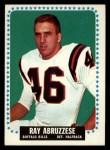 1964 Topps #22  Ray Abruzzese  Front Thumbnail