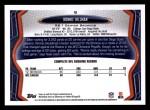 2013 Topps #9  Ronnie Hillman  Back Thumbnail