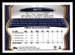 2013 Topps #11  Manti Te'o   Back Thumbnail